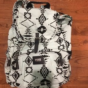 VS PINK Tribal Print Light Blue Backpack